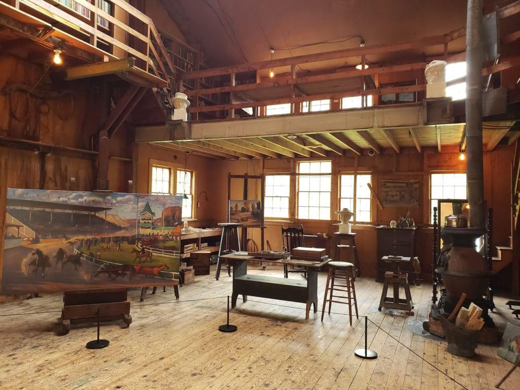 M. Young Studio Weir Farm National Park Ridgefield CT