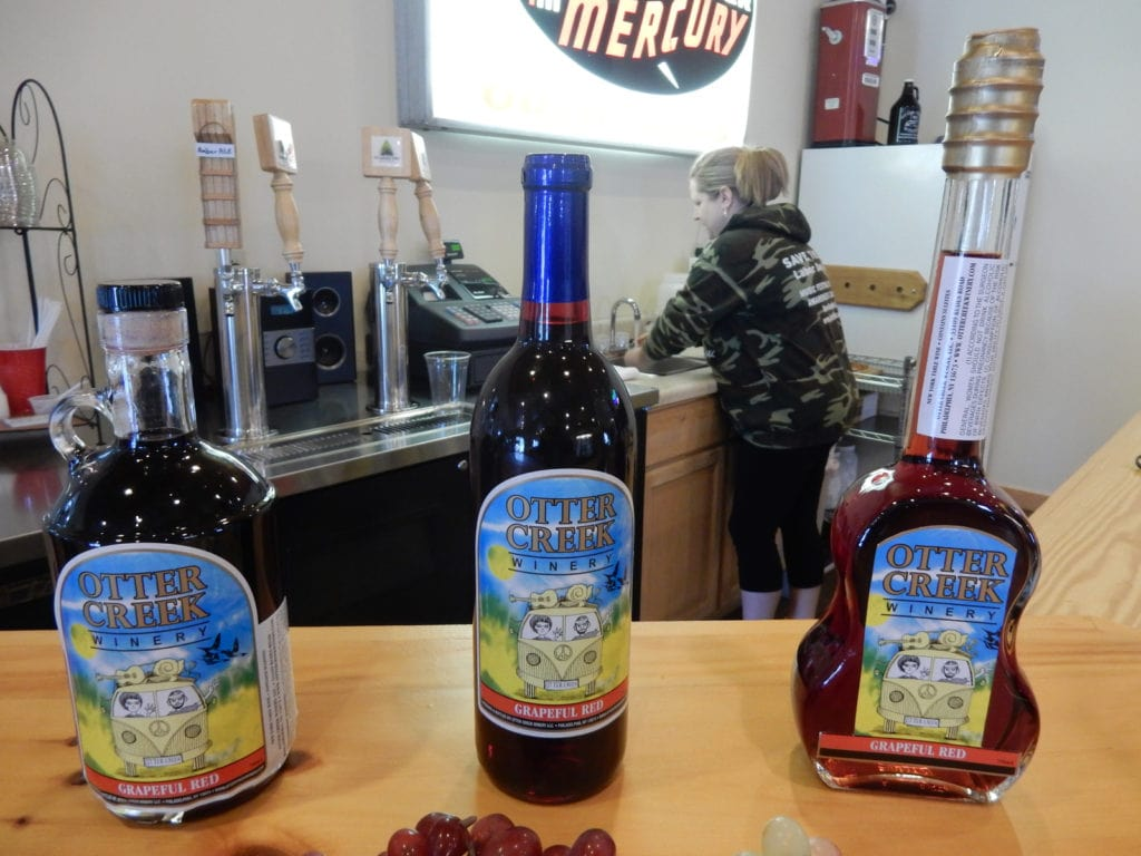 Otter Creek Winery Tasting Room Alexandria Bay NY