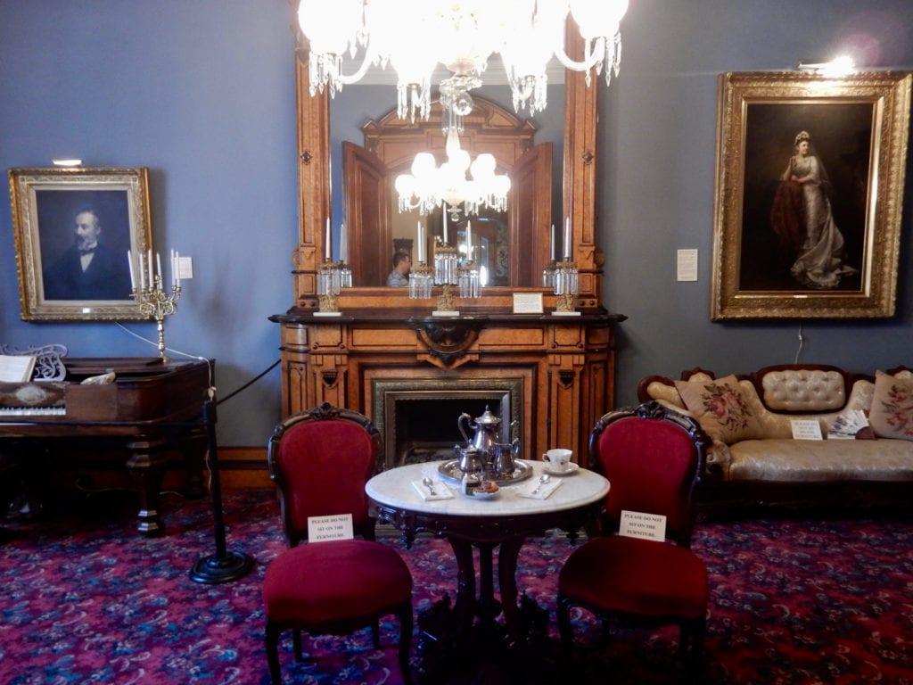Parlor Phelps Mansion Museum Binghamton NY