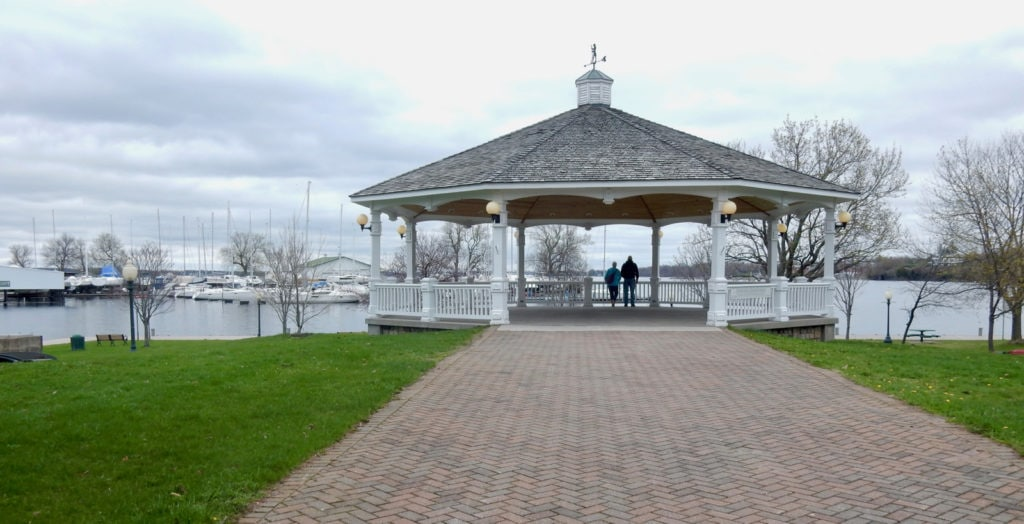 Sackets Harbor NY Gazebo