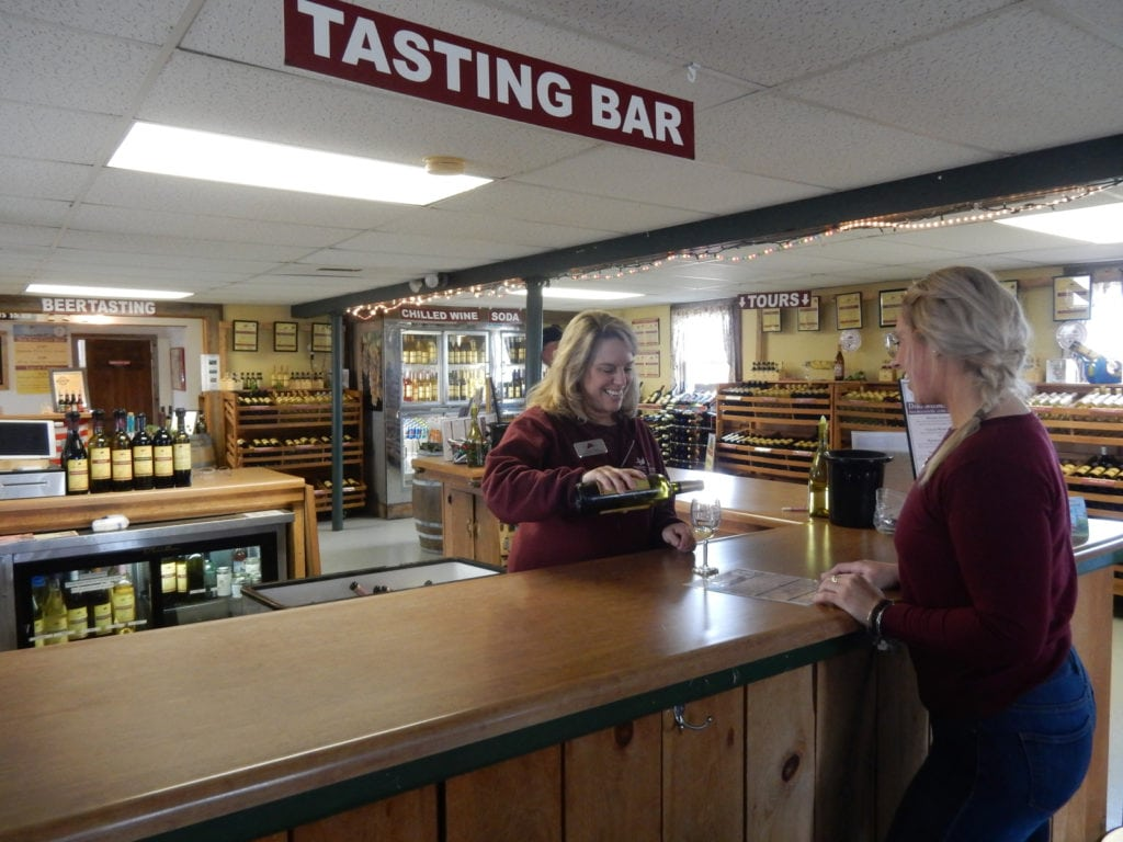 Thousand Islands Winery Tasting Room Alexandria Bay NY