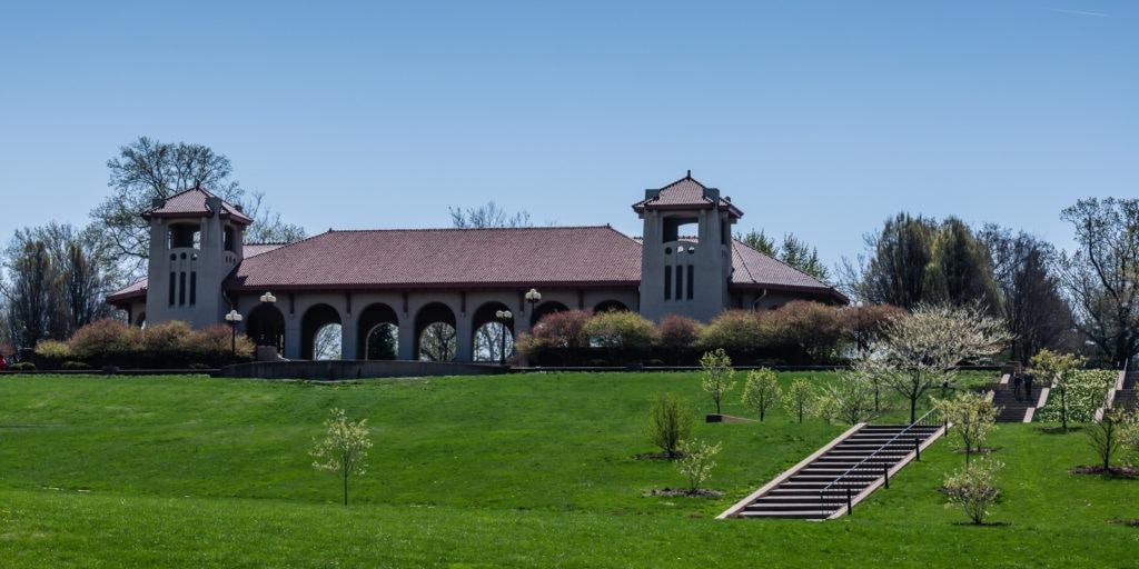 Worlds Fair Pavilion exterior - Forest Park - St Louis MO