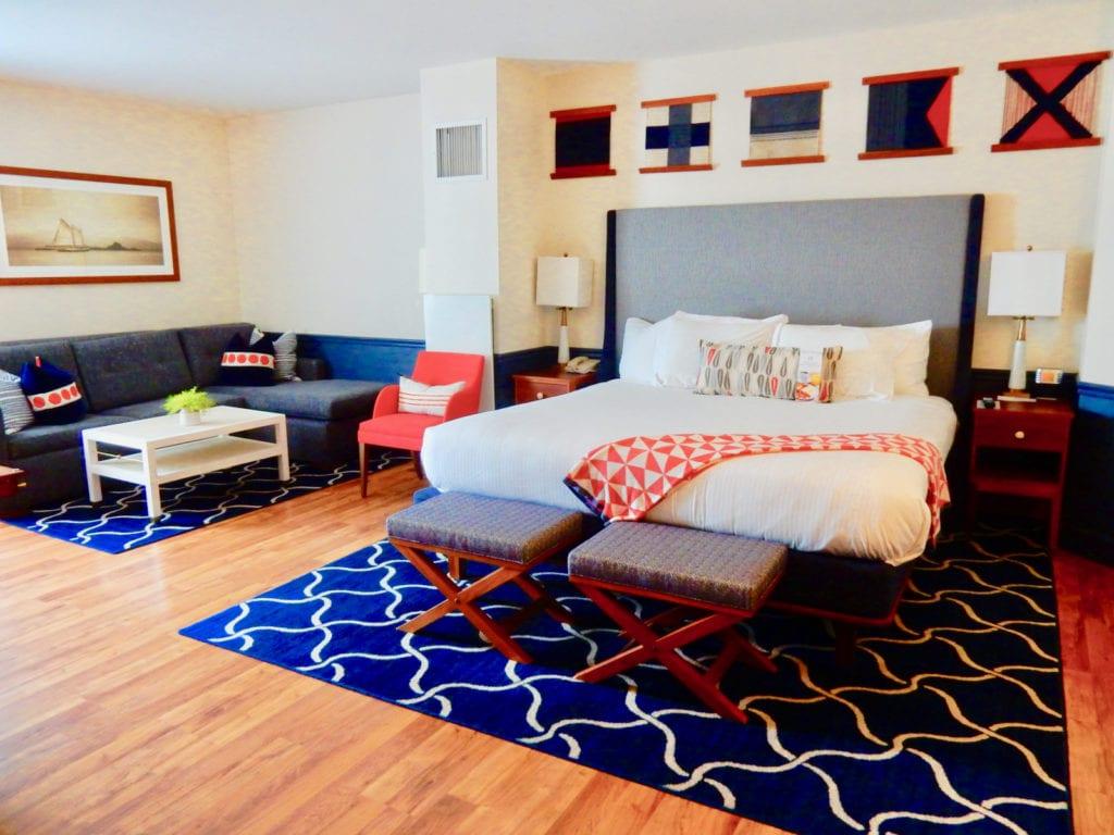 Portland Harbor Hotel Guest room