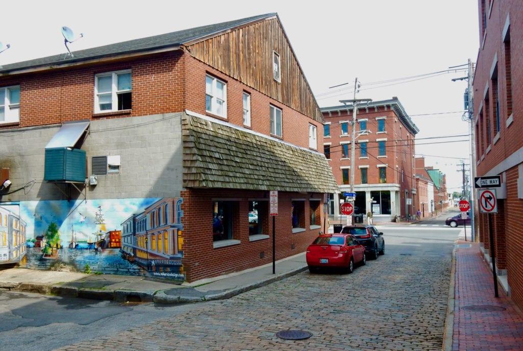Portland ME Old Port Street