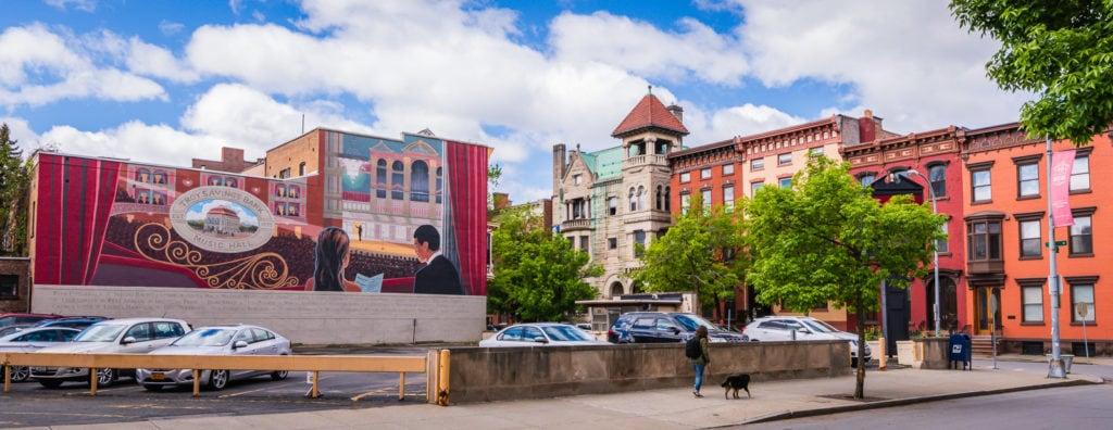 Troy Savings Bank Music Hall Mural