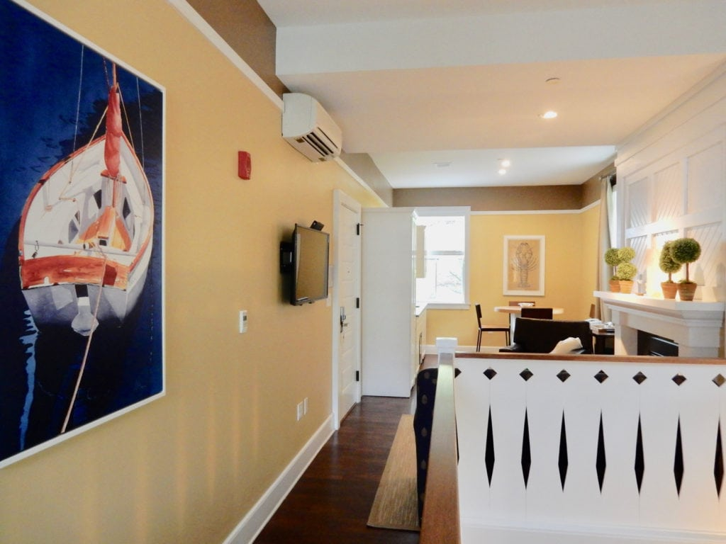 Two story suite Inn at Diamond Cove Maine