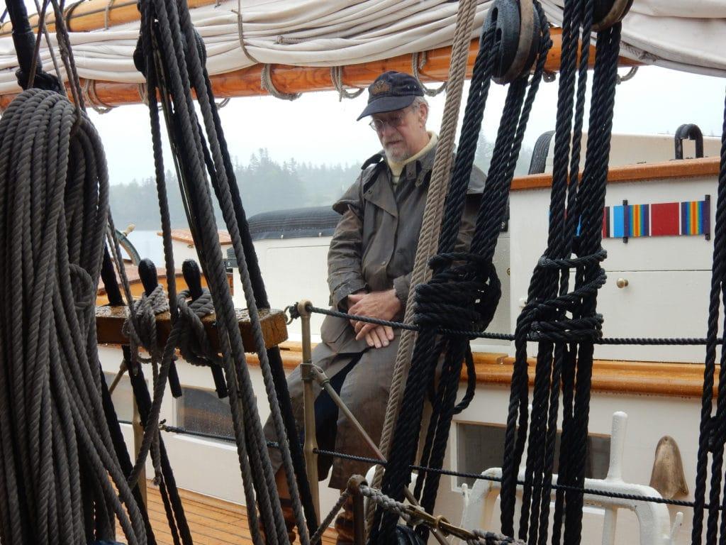 Captain Ken Barnes Schooner Stephen Taber