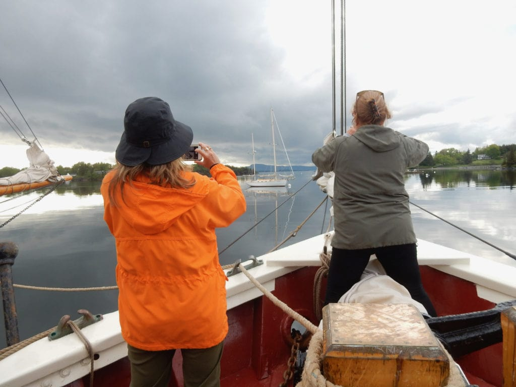 After the rain on the Stephen Taber in Pulpit Cove
