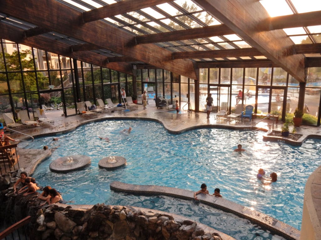 Minerals Resort Indoor Pool Vernon NJ