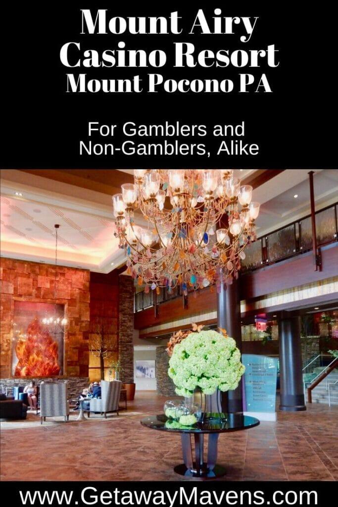 Mount Airy Casino Resort Pin
