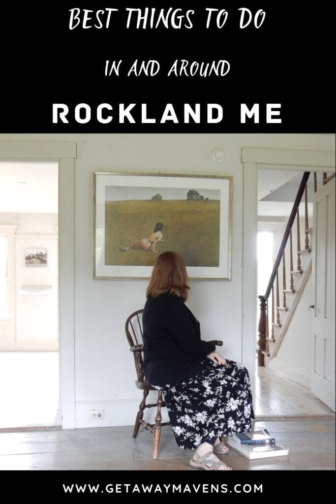 Rockland Maine Pin