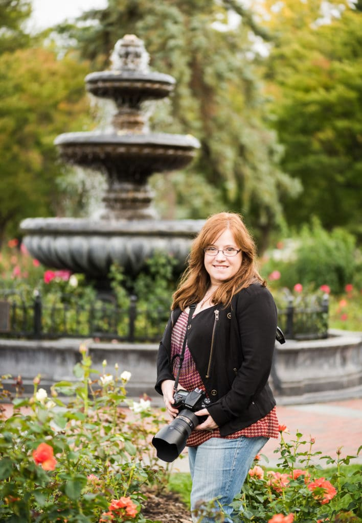 Rose Garden portrait in Schenectady NY
