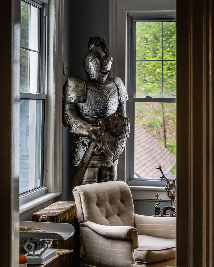 Coat of Armor at Gardner Farm Inn Troy NY