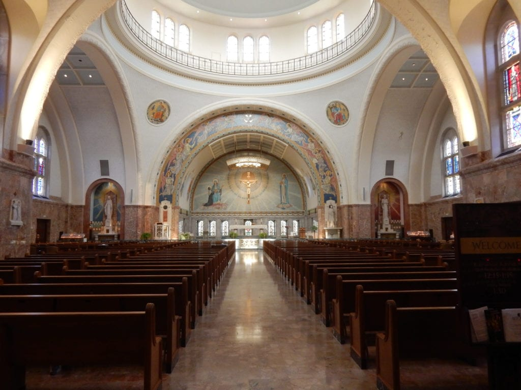 Basilica at Saint Elizabeth Ann Seton Shrine, Emmitsburg MD