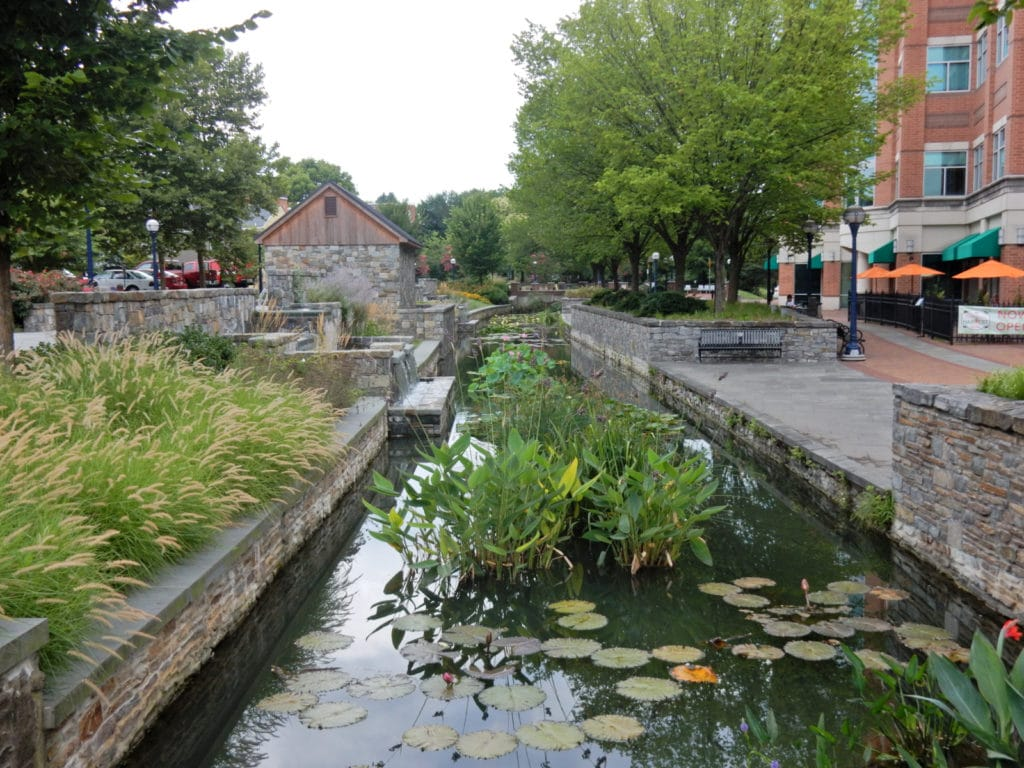 Carroll Creek walkway Frederick MD