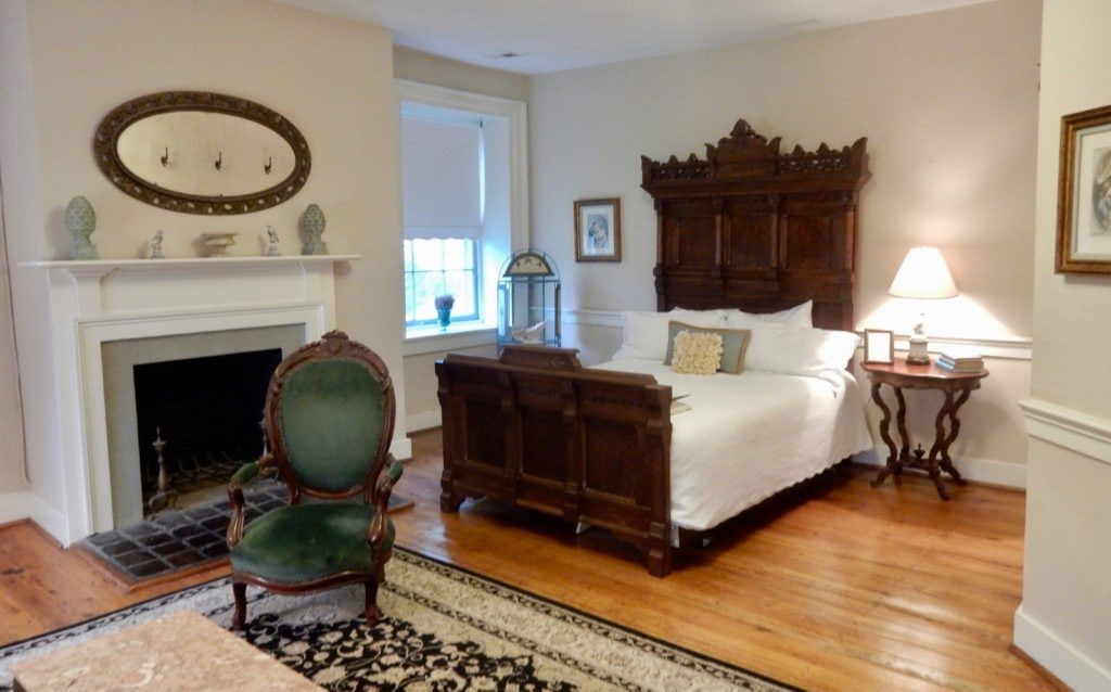 Guest room at Inn at Springfield Manor Thurmont MD
