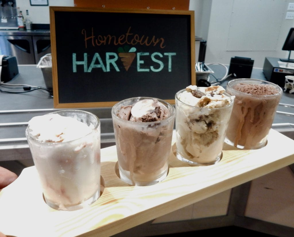 Hometown Harvest Ice Cream Flight Frederick MD