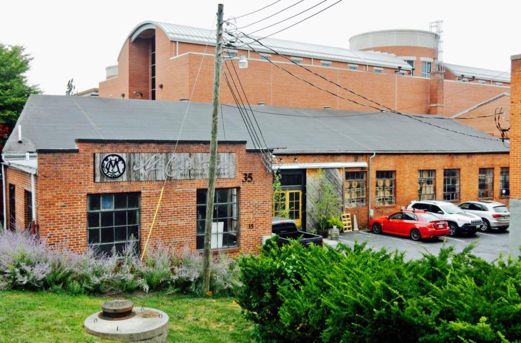 McClintock Distilling exterior Frederick MD