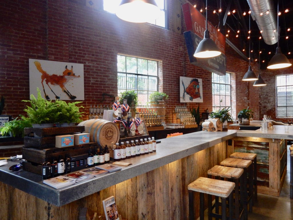 McClintock Distilling Tasting Room Frederick MD