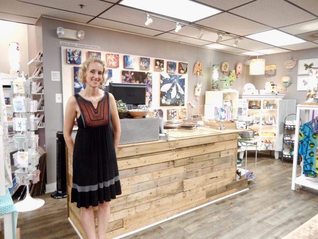 Whitney Dahlberg, owner, The Muse, Frederick MD