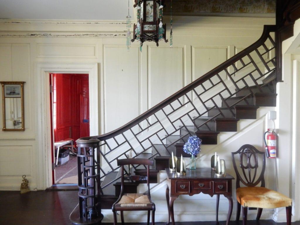 Interior of Manor house of a Maryland Farm plantation
