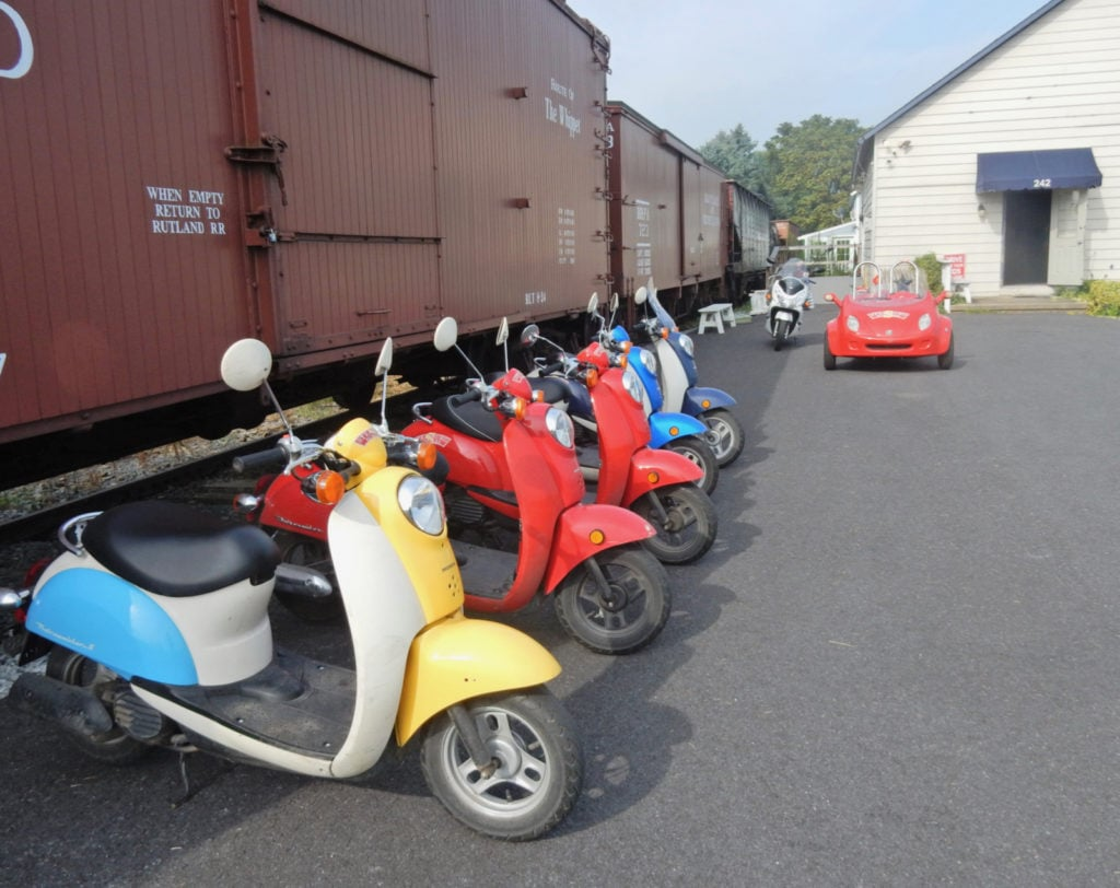 Strasburg Scooters in Lancaster PA Amish country