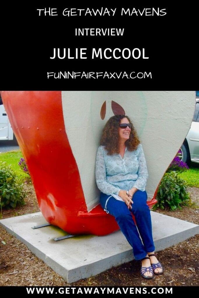 Julie McCool FunInFairvaxVA Pin