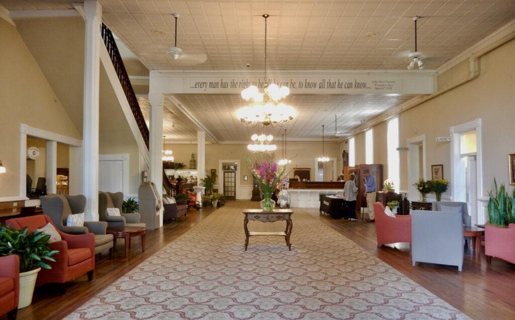 Athenaeum Hotel Lobby Chautauqua NY