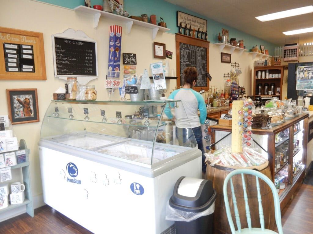 Cream and Sugar Interior Coudersport PA