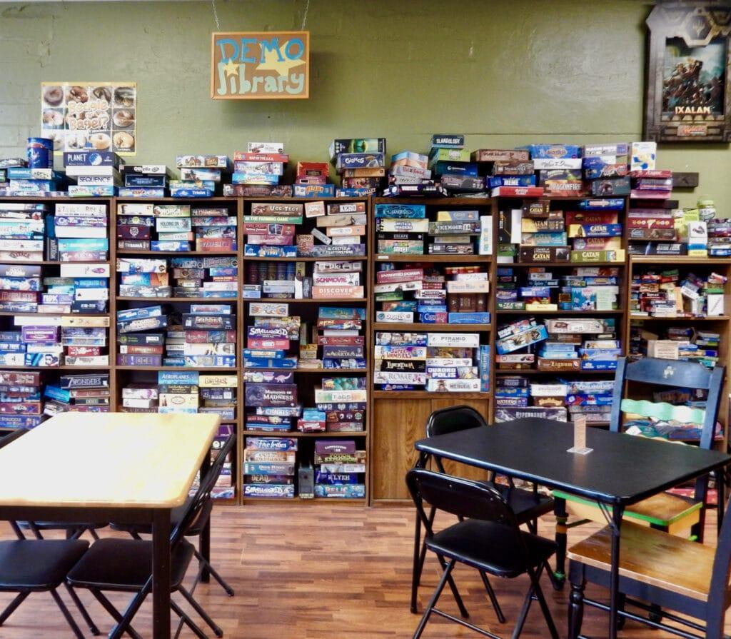Demo Library Pop's Culture Shop Wellsboro PA