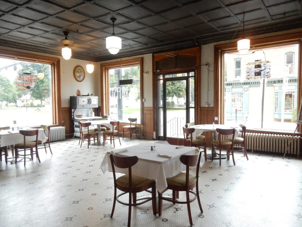 Dining Room Crittenden Hotel Coudersport PA