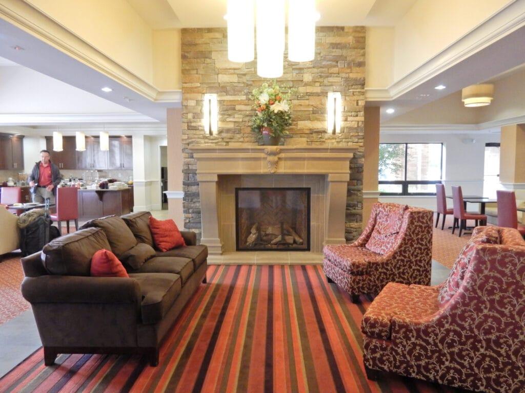 Penn Wells Lodge Lobby Wellsboro PA