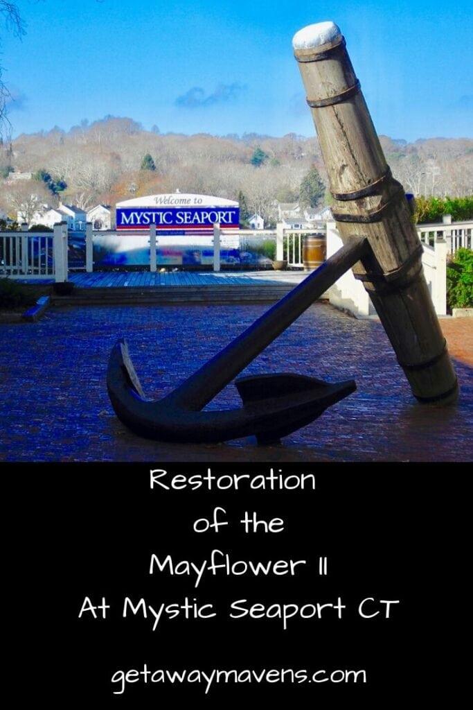 Mayflower II Restoration at Mystic Seaport Piin