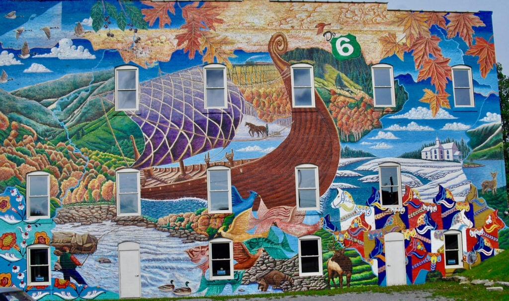 Mural Mt. Jewit PA Route 6