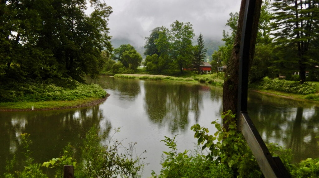 River View from Ole Covered Wagon Tour