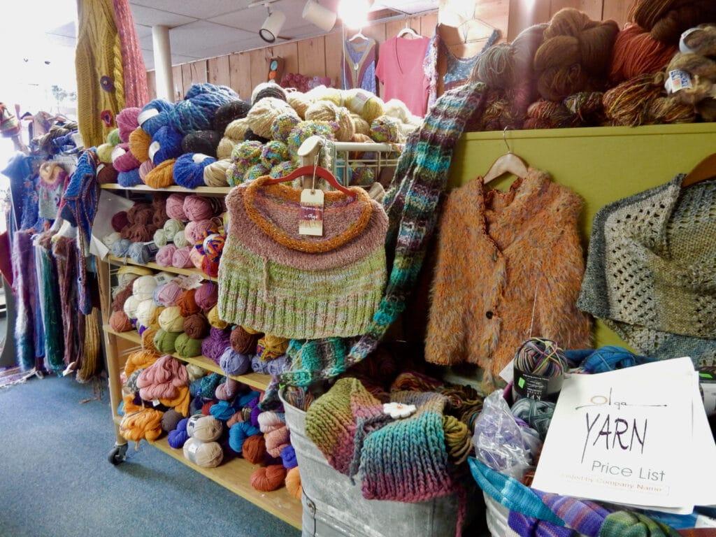 Olgas Yarn Shop Coudersport PA