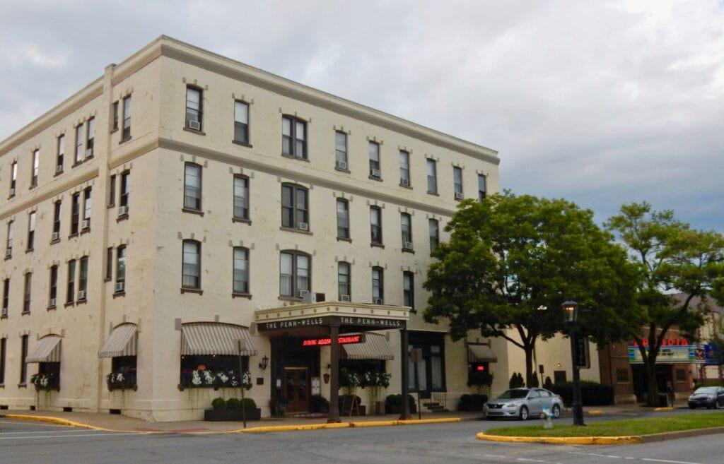 Penn-Wells Hotel Wellsboro PA