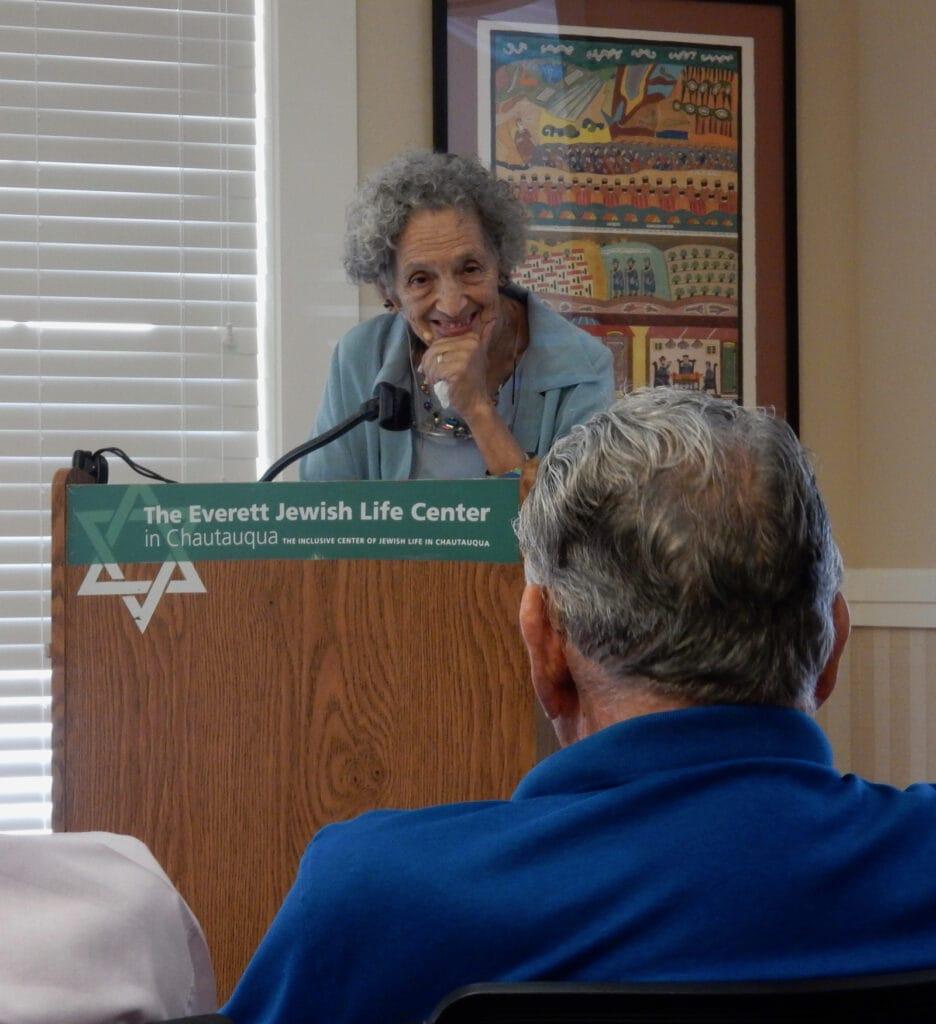 Ruth Messinger at Chautauqua Institution NY