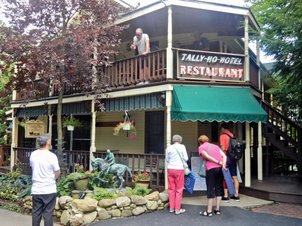 Tally Ho Hotel and Restaurant Chautauqua Institution NY