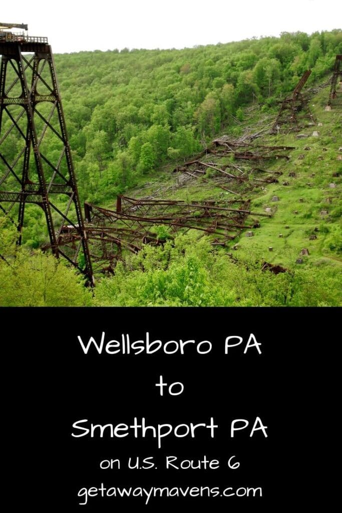 Wellsboro PA to Smethport PA on Route 6