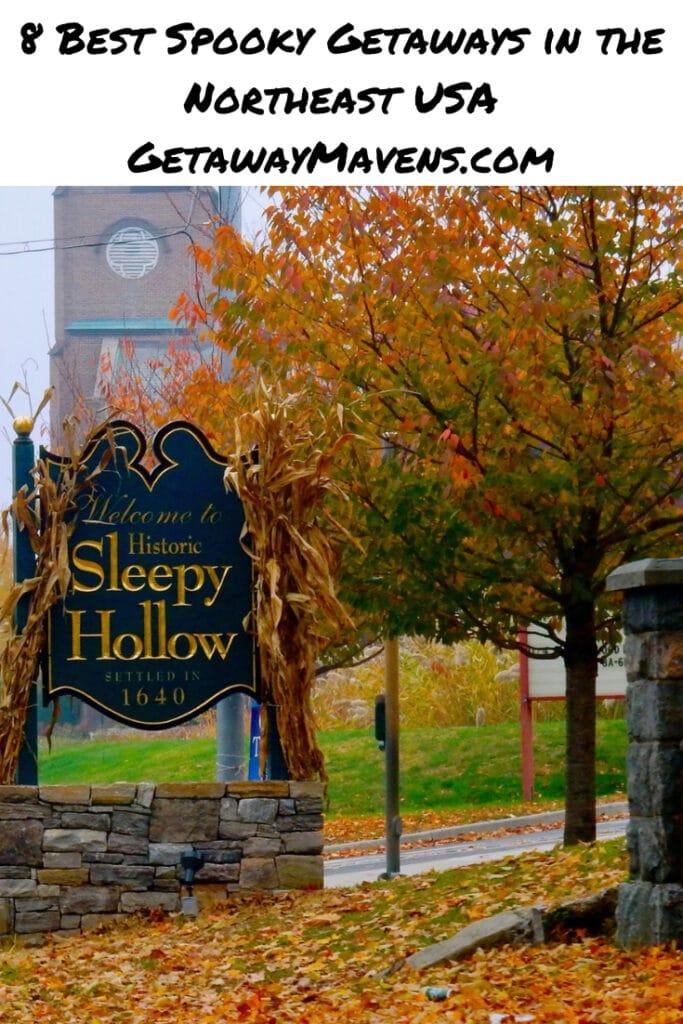 8 Best Spooky Getaways in Northeast US Pin