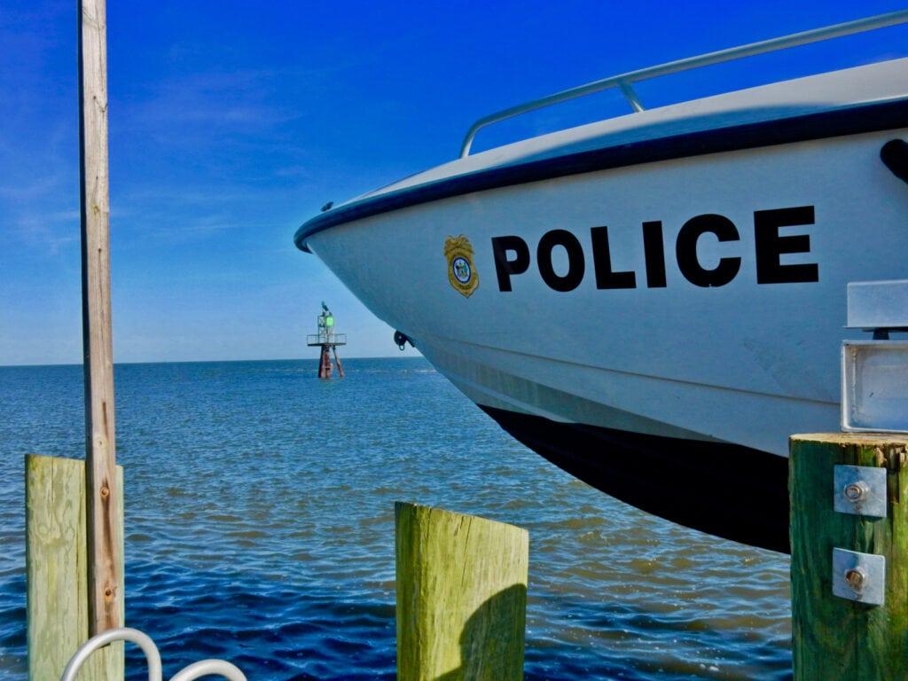 Bowers Beach DE Marine Police