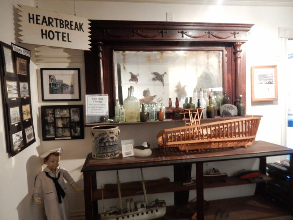 Hotel exhibit Bowers Beach Maritime Museum DE