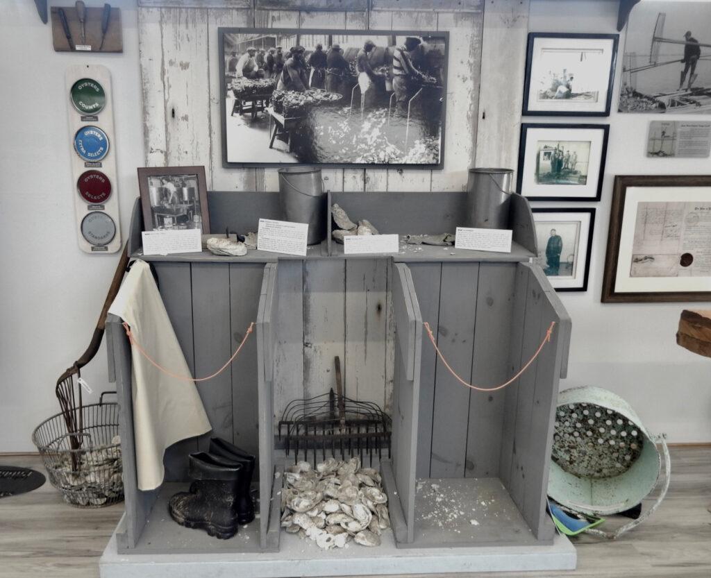 Oystering Exhibit Bowers Beach Maritime Museum DE