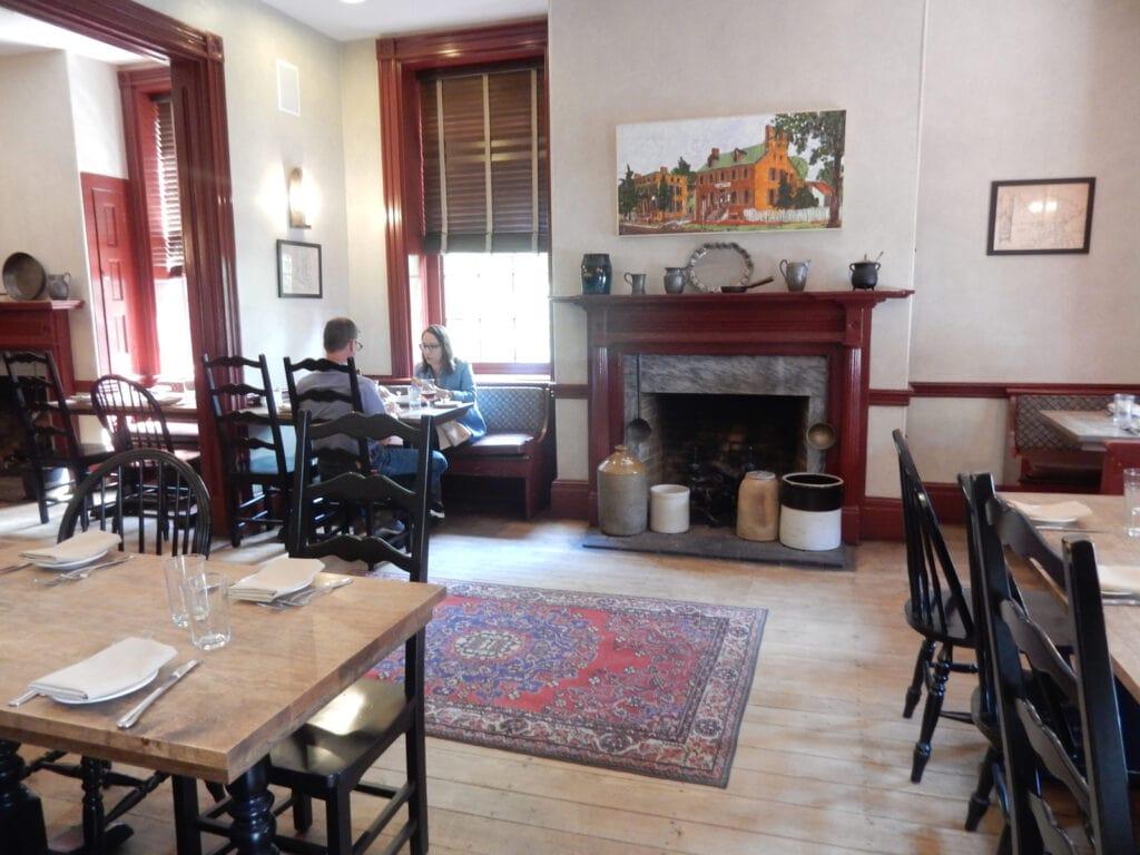 Interior of Colonia Era Tavern Cantwells Tavern Odessa DE