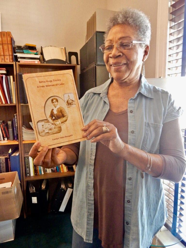 Carolyn Tibbs Hemphill, Hanover County Black Heritage Society Ashland VA