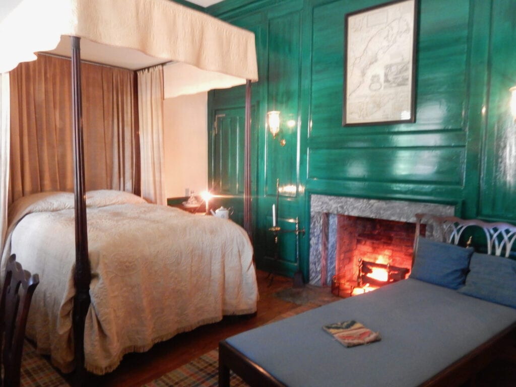 Corbit-Sharp House Bedroom Odessa DE