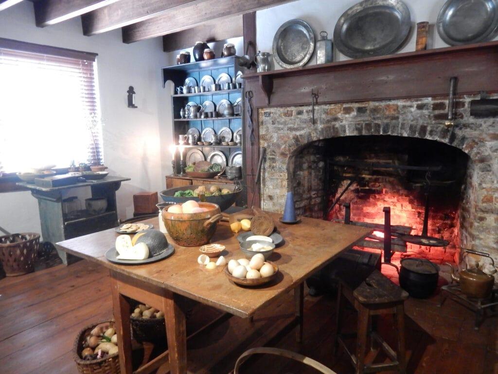 Corbit-Sharp House Kitchen Historic Houses of Odessa DE