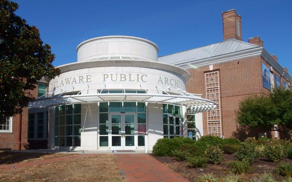 Delaware Public Archives Dover DE