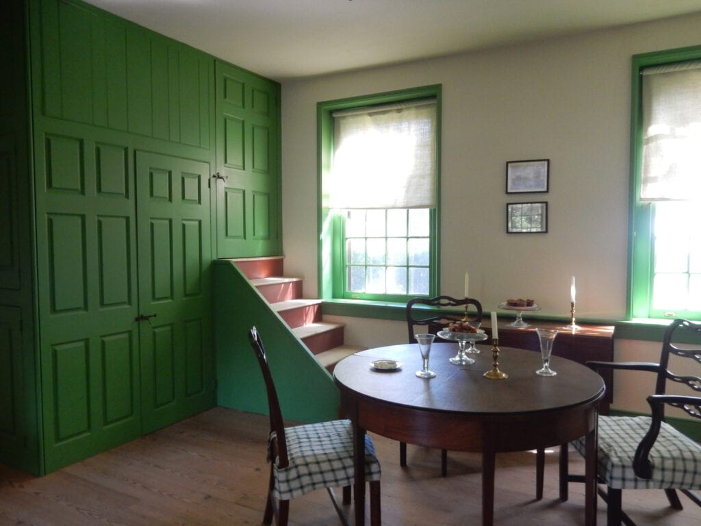 Dickinson Plantation Green Room Dover DE